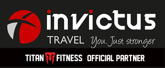 invictus travel partner titan fitness