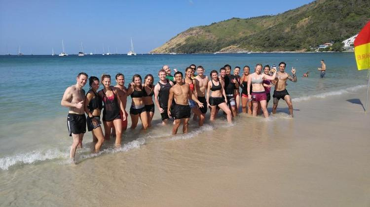 Titan Fitness Camp Beach training