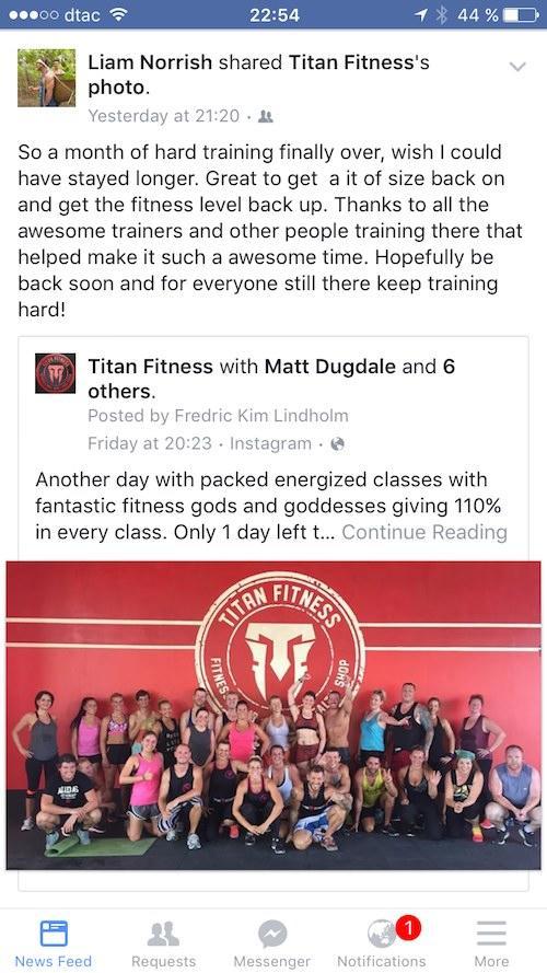 Titan Fitness Testimonial 02