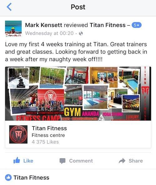 Titan Fitness Testimonial 03