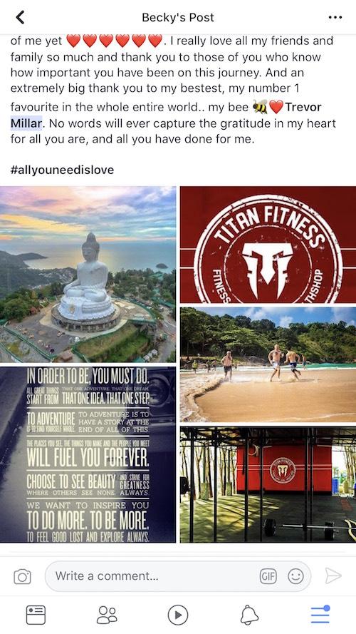 Titan Fitness Testimonials 2018 (April)