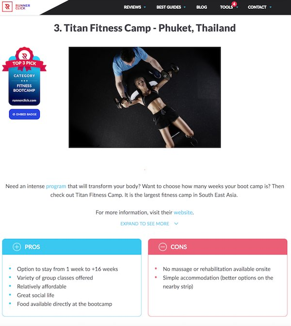 3rd best fitness bootcamp in the world-titan-fitness-thailand
