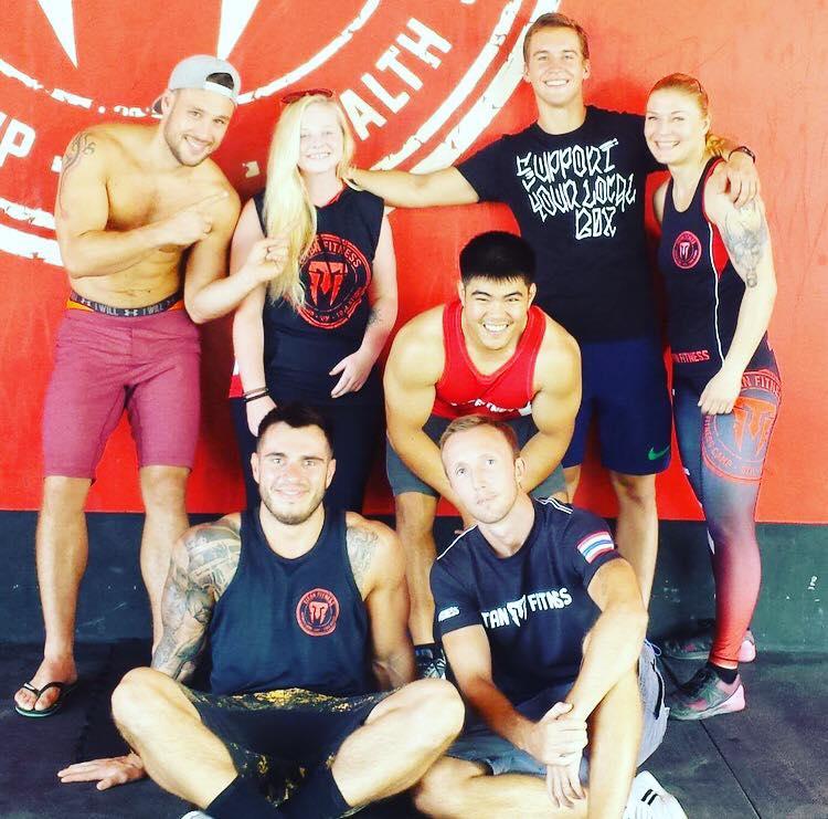 titan fitness camp coach jakub